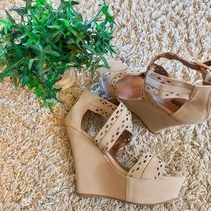 Straps Platform Sandals